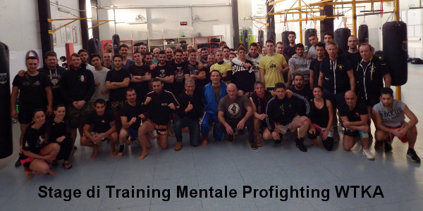 Stage training mentale Profighting Wtka gennaio 2016