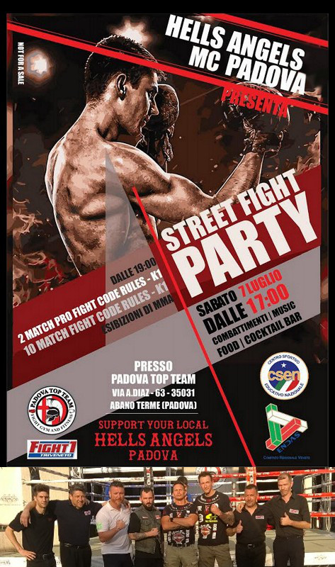 Street Fight Party 7 luglio 2018